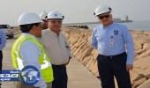 بالصور..وزير البيئة والمياه: إنجاز 70% من مشروع المرحلة الثالثة في ينبع