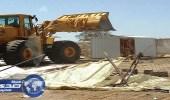 إزالة التعديات من 60 موقعا في أحياء البياري