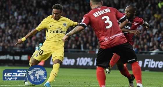 نيمار يحرز أول أهدافه مع باريس سان جيرمان في جانجون