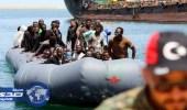 السلطات الليبية تنقذ 137 مهاجرًا على سواحل طرابلس