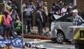 قتيل و19 مصابًا في حادث دهس استهدف متظاهرين في فرجينيا