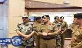 جولة تفقدية لقائد أمن الحج على قيادات القوات