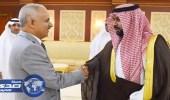 الأمير محمد بن عبدالعزيز يستقبل وفد الجالية اليمنية بالمنطقة