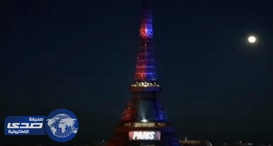 بالفيديو.. باريس تضع اسم نيمار على برج إيفل
