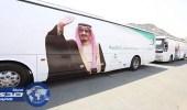 بالصور.. تصعيد 420 حاجا من المنومين بمستشفيات مكة إلى مشعر عرفات