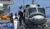 قطعة بحرية إيطالية تصل إلى ميناء طرابلس