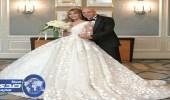 المطربة جنات تحتفل بزفافها على محام مصري