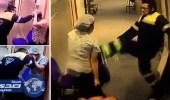 """بالفيديو والصور.. طبيب يضرب ممرضة ويرفس بطنها """" رغم حملها """""""