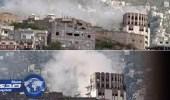 """مقتل """" امرأة وجنينها """" في قصف حوثي على أحياء تعز"""