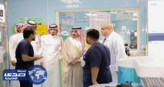 تدشين عدد من المشروعات التحسينية بمستشفى المحافظة العام