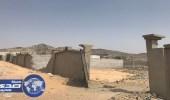 إزالة مخطط مخالف بمنطقة الحسينية في مكة