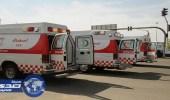 سائق متهور يدهس 4 مسعفين ورجل أمن في المدينة