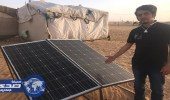 بالفيديو.. مواطن شاب ينير خيمة في الصحراء بالطاقة الشمسية