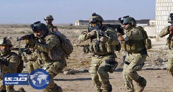 سياج أمني غربي الأنبار العراقية