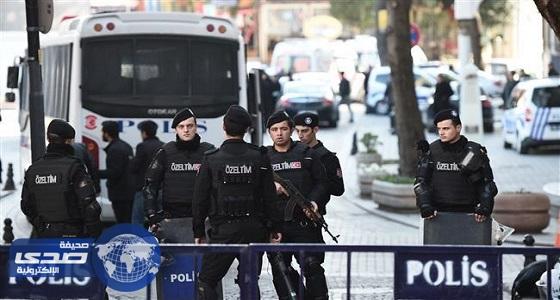 إصابة 4 من رجال الشرطة التركية في انفجار عبوة ناسفة