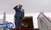السيسي أول رئيس مصري يزور الجابون