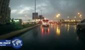 أمطار متوسطة على مراكز منطقة تبوك
