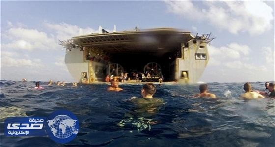 البحرية الأمريكية توقف عملياتها فى جميع أنحاء العالم