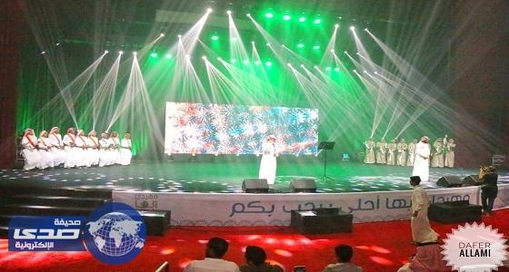 """افتتاح مهرجان """" أبها أحلى """" تحت رعاية سمو أمير منطقة عسير"""