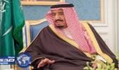 خادم الحرمين يتلقى برقية عزاء من حاكم عجمان في وفاة الأمير منصور بن مقرن