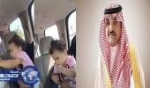 تكريم مواطن عثر على طفلة تائهة في منتزه بجدة