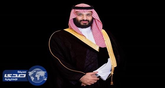 ولي العهد يتلقى اتصالا من الرئيس اليمني للتهنئة بالعيد