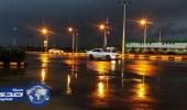 أمطار متفرقة على جازان