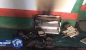 وافد يُشعل النيران في مسجد ويعتدي على مسن