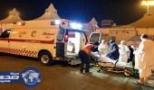 الهلال الأحمر ينقذ حياة حاجين إيراني وتركي توقف قلبيهما