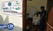 """بالصور.. ٥٠٠ طالبا من """" طب أم القرى """" يشاركون في خدمة ضيوف الرحمن"""