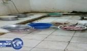 بالصور.. ضبط مطبخ إعاشة مخالف بشوقية مكة