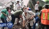 مصرع 21 طفلا إثر انهيار مدرسة جراء زلزال المكسيك