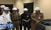 بالصور.. مختصون بالهيئة العليا للأمن الصناعي بالداخلية يزورون محطة جدة