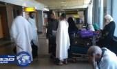 إصابة حاج بكسر بعد سقوطه خلال تدافع الركاب بمطار القاهرة