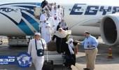 عودة 5500 حاج من الأراضي المقدسة إلى مطار القاهرة اليوم
