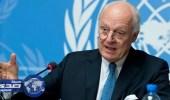 المبعوث الدولي يطالب سوريا إنشاء هيئة حكم انتقالية