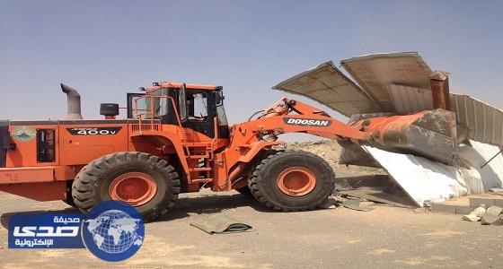 بلدية خميس مشيط تستعيد مليوني متر مربع من قبضة المعتدين