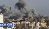 الطيران العراقي يدمر مخزن أسلحة لداعش في قضاء القائم