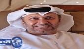 قرقاش: أبشروا بالخير المسألة في يد الأمير محمد بن سلمان