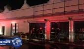 """مجهولون يحرقون سوبر ماركت في محطة وقود بـ """" وادي الدواسر """""""
