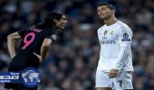 """رونالدو يرفض انضمام """" كافاني """" في صفوف ريال مدريد"""
