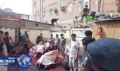 بالصور.. بلدية المسفلة بمكة تصادر 10 أطنان من لحوم الإبل والأغنام الفاسدة