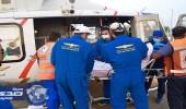 الهلال الأحمر يباشر في أول أيام التشريق 2862 حالة