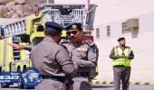 مدني الطائف ينفذ تجربة نشوب حريق بالسجن العام