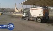 بالصور.. أمانة الرياض تزيل 33 ألف طنًا من النفايات في العيد