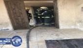 وفاة طفلين وإصابة 7 أشخاص من عائلة واحدة في حريق ضخم بالقطيف