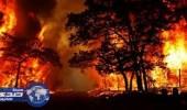 بالفيديو.. حرائق غابات ولاية أوريجون يجبر المئات على ترك منازلهم