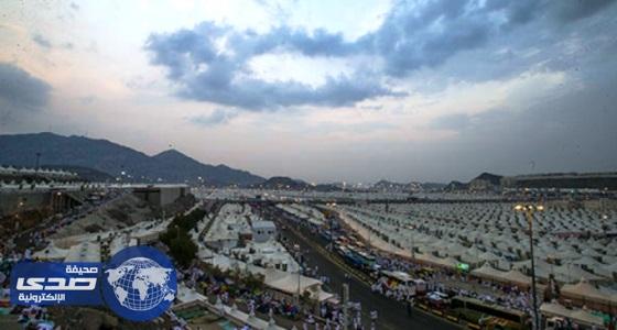 سماء غائمة جزئيا على مكة المكرمة ومشعر منى اليوم