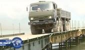 """جسر عسكري فوق """" الفرات """" لدعم النظام السوري"""