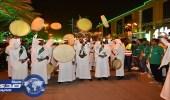 بالفيديو والصور.. احتفالات المواطنين باليوم الوطني الـ87 للمملكة